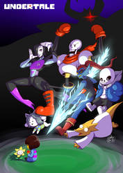 Undertale by dragonmanX