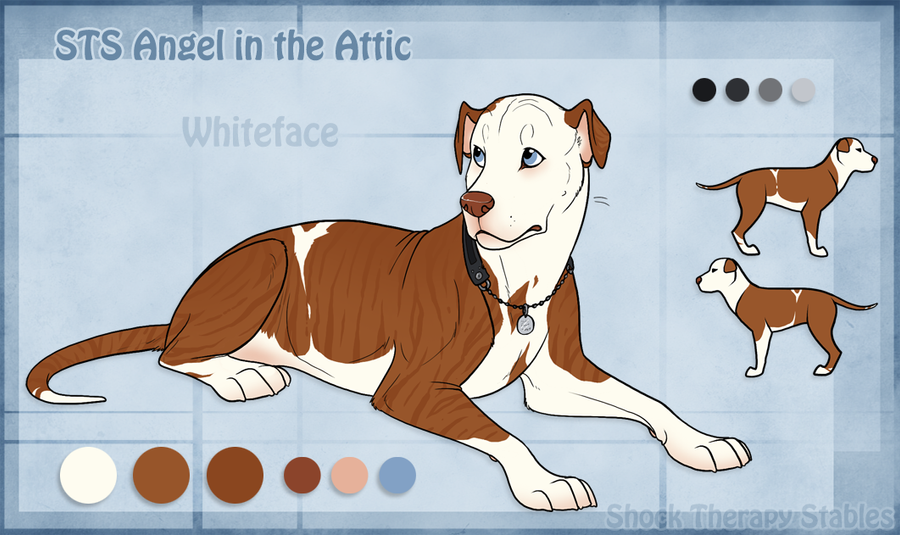 STS Dog - Whiteface by ShockTherapyStables on DeviantArt