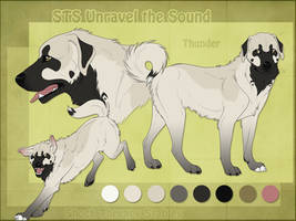 STS Dog - Thunder by ShockTherapyStables