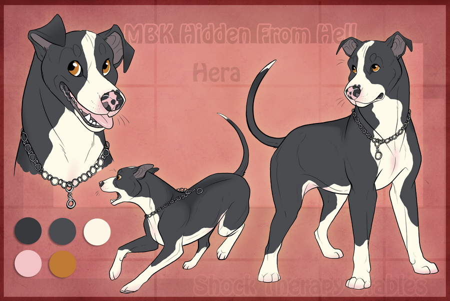 Sts Dog Hera By Shocktherapystables Siberian Husky With American Bully