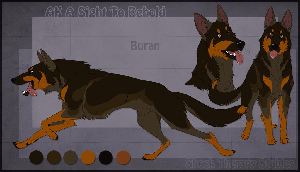 Sts Dog Buran By Shocktherapystables On Deviantart