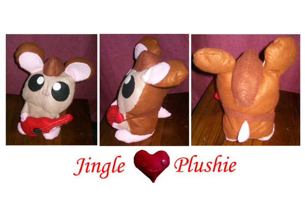 Jingle plushie for Saru by BakaMichi