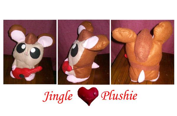 Jingle plushie for Saru by BakaMichi