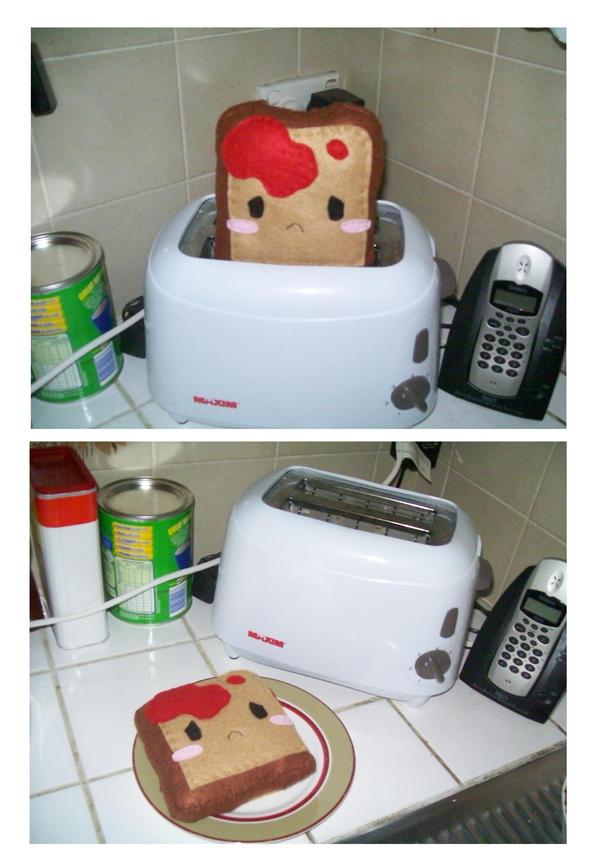 Emo toast by BakaMichi