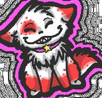 Kizzy's feeling cheeky by BakaMichi