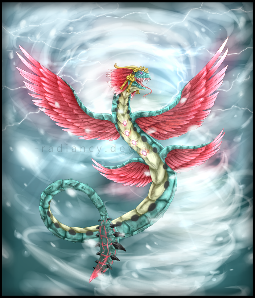 Serpent of the Nine Winds by Radiancy