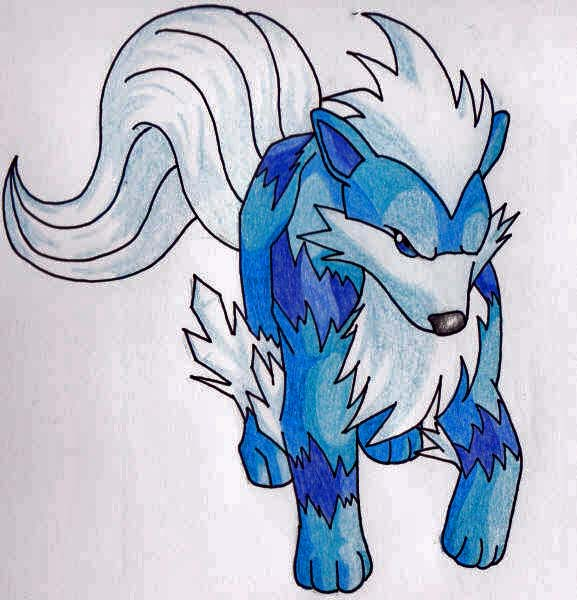 Summary -> Elemental Wolf Sketch Ice And Fire - stargate