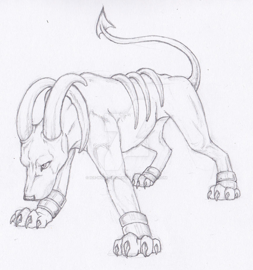 SemiRealistic Pokemon Houndoom