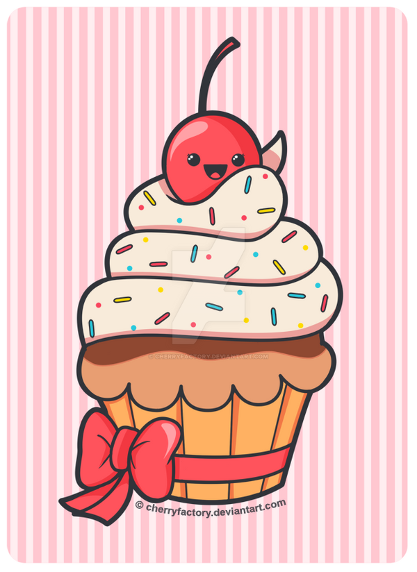Cute Cupcake by CherryFactory