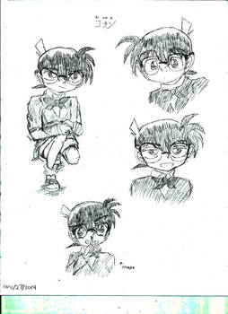 Conan sketches