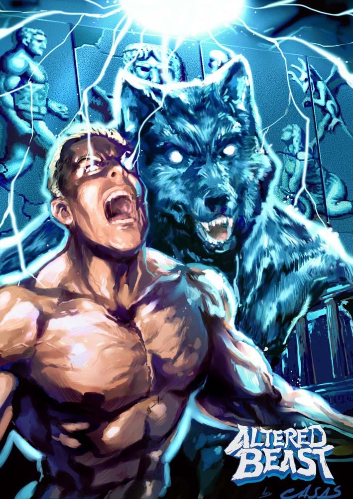 Altered Beast fan art