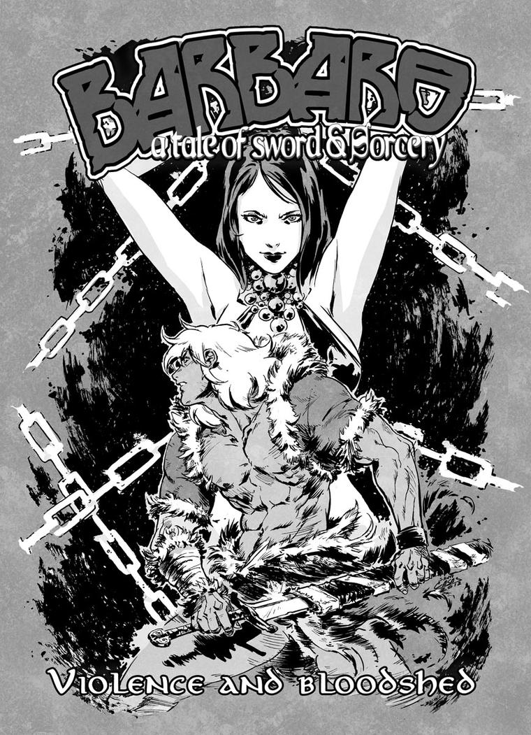 Barbaro 2012 cover by SANTI-IKARI
