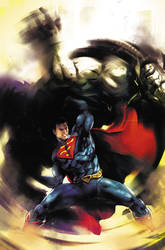 Injustice's Superman by SANTI-IKARI