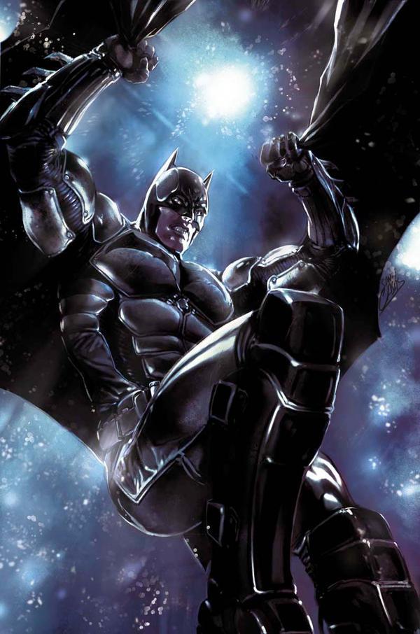 Arkham Origins' Batman by SANTI-IKARI