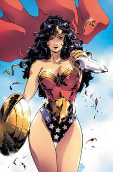 Wonder Woman and sword