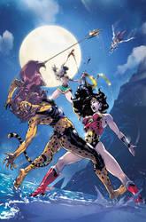 Wonder Woman fight