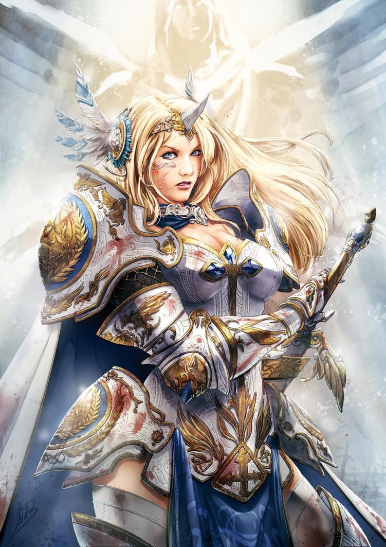 Holy Knight by SANTI-IKARI