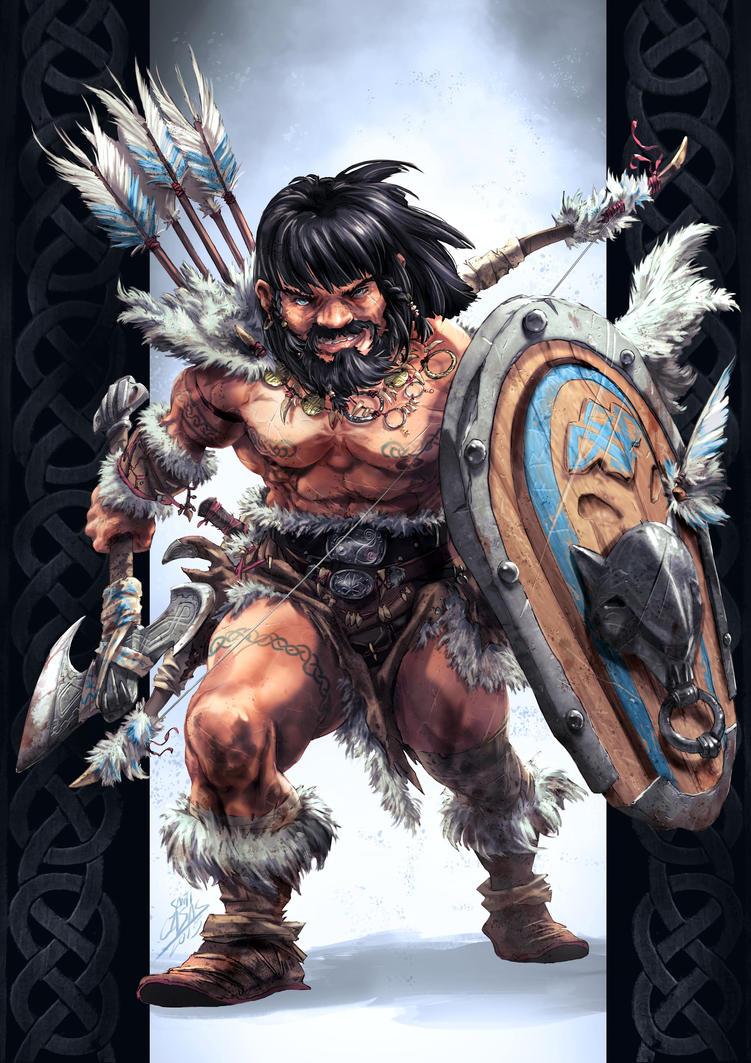 Isen Dwarf by SANTI-IKARI