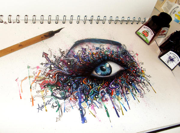 Graffiti Eye By AtahirART On DeviantArt