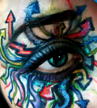 Graffiti Eye Makeup