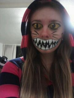 Cheshire Cat Halloween Style by Foxy-Rae