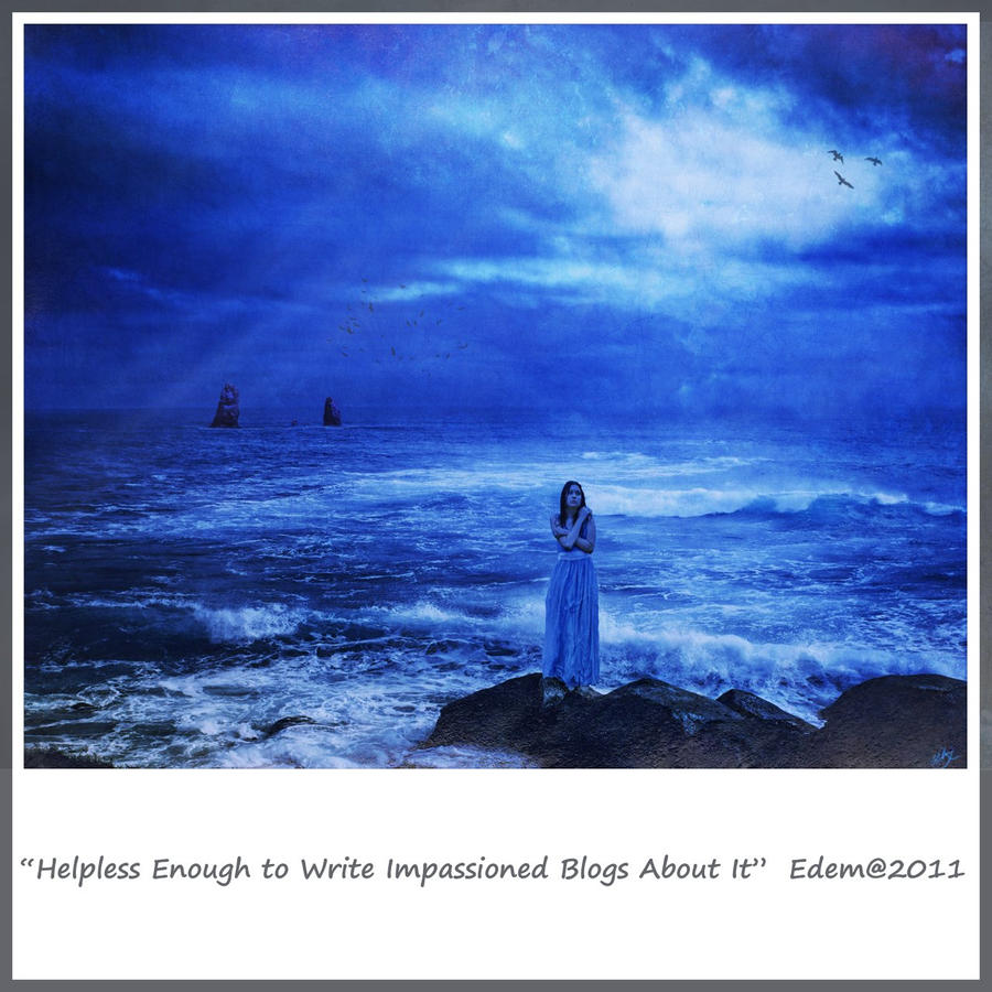 Helpless Enough Blue Version by MoodyBlue