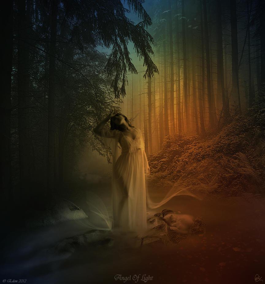 Angel of light by moodyblue on deviantart