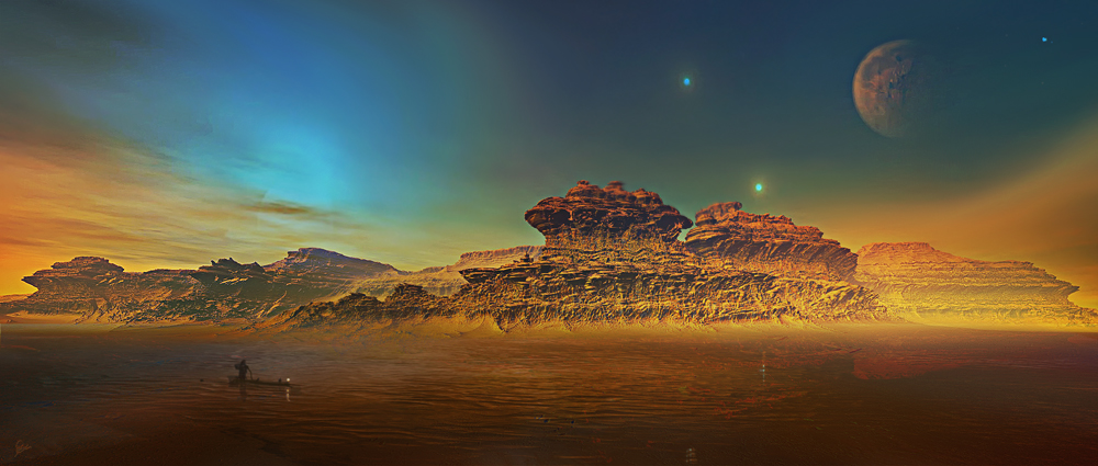 Sacred Waters by MoodyBlue