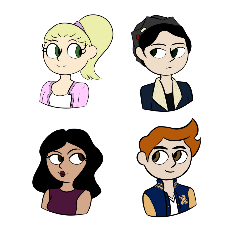 Riverdale Team by Aikeji on DeviantArt