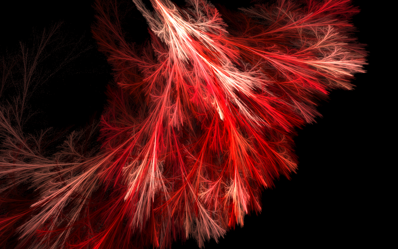 RED: Feather Duster .Wallpaper by ShutteredReality on deviantART