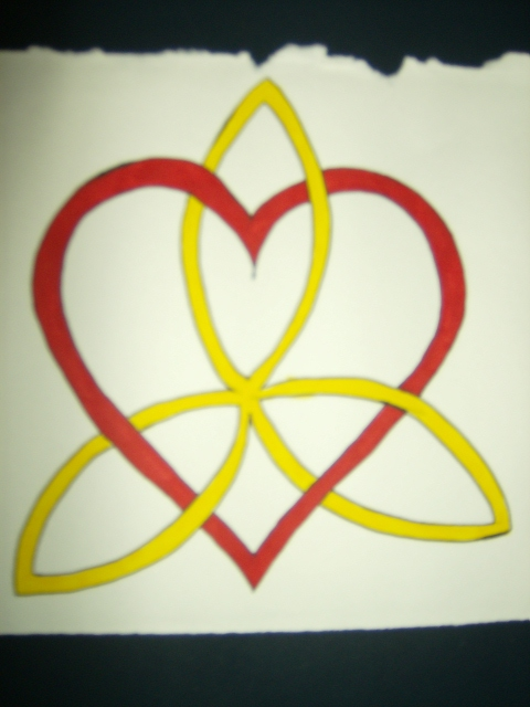 Heart Triquetra by LadyBlades on DeviantArt
