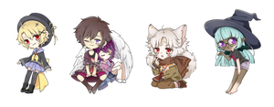 Chibi batch 2 by oceres