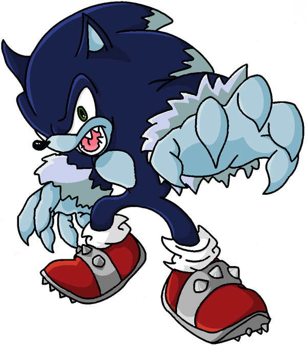 Sonic the Werehog by Happy-Food on DeviantArt