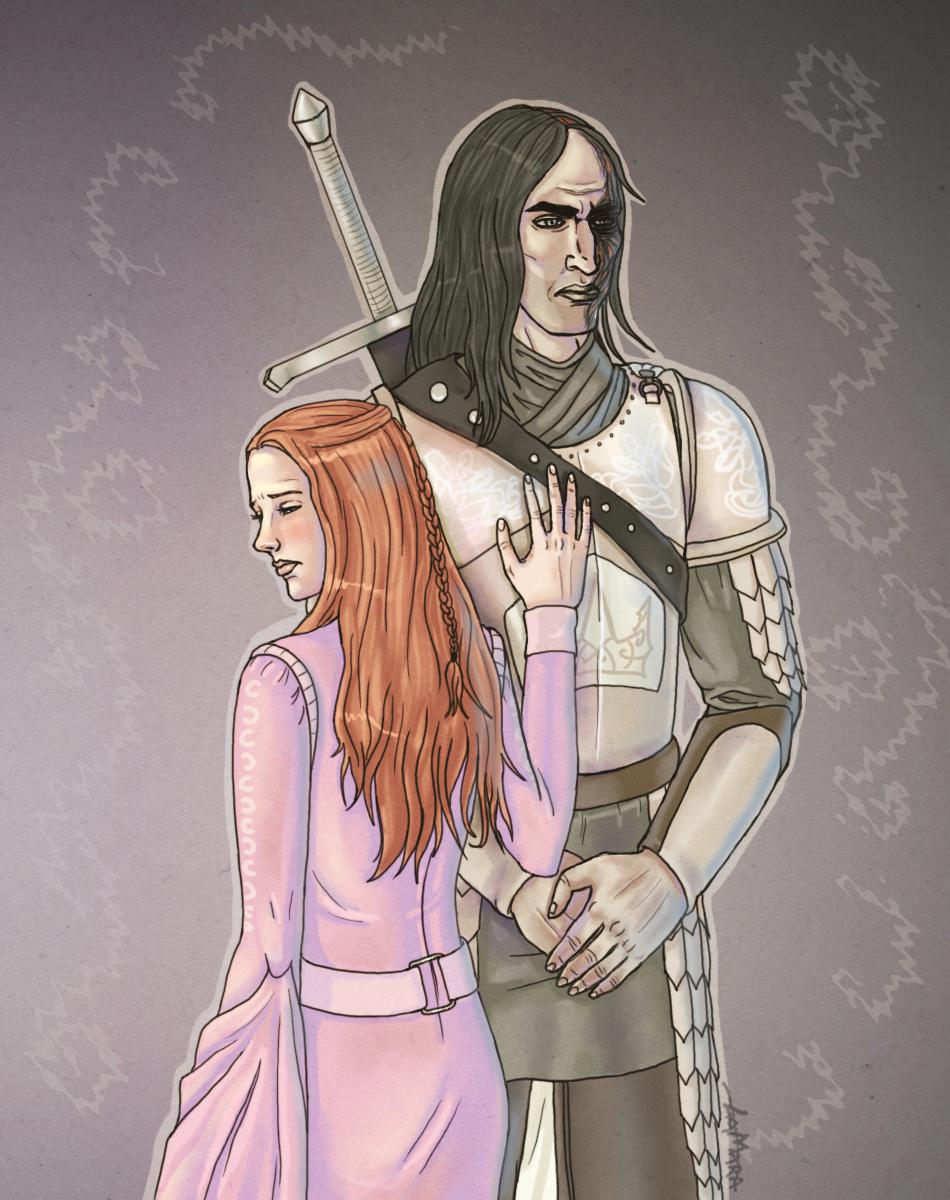 Sansa and Sandor by Lamaraloon on DeviantArt