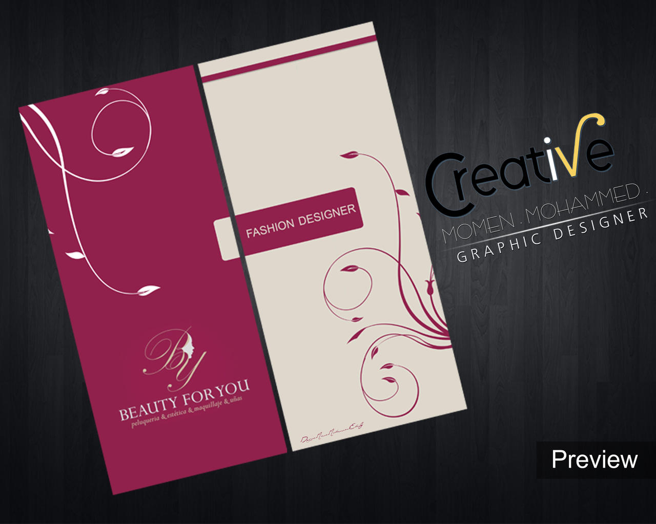 Brochure design a new fashion company by MOMENMOHAMMED