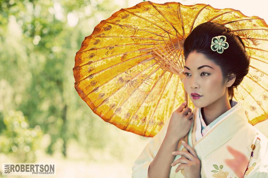 Geisha Photoshoot by kittykanzashi