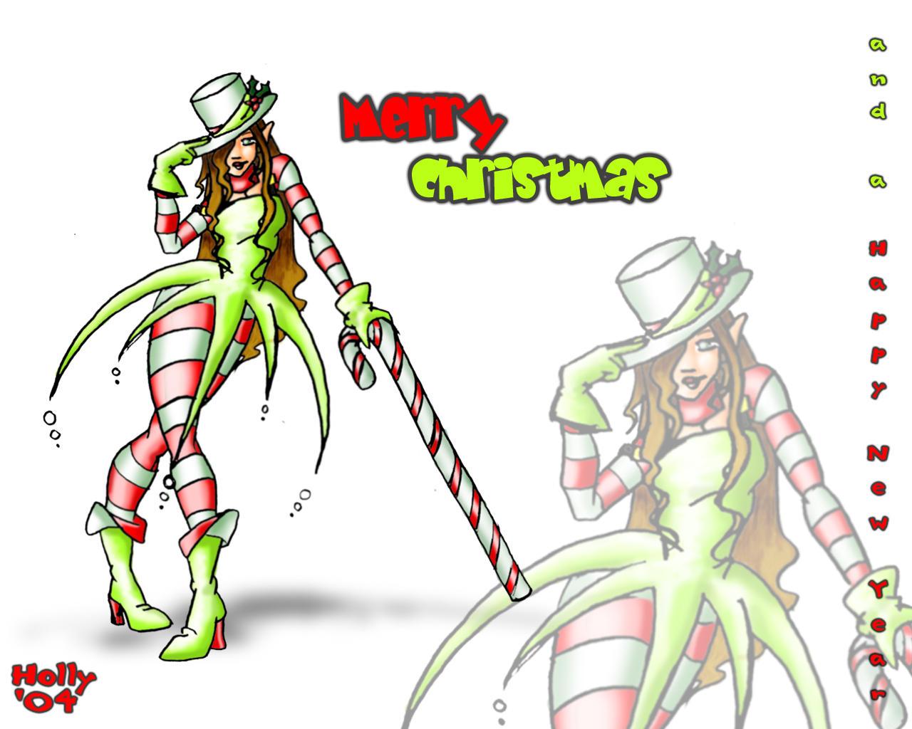 Merry Christmas '04 bg by Horuni