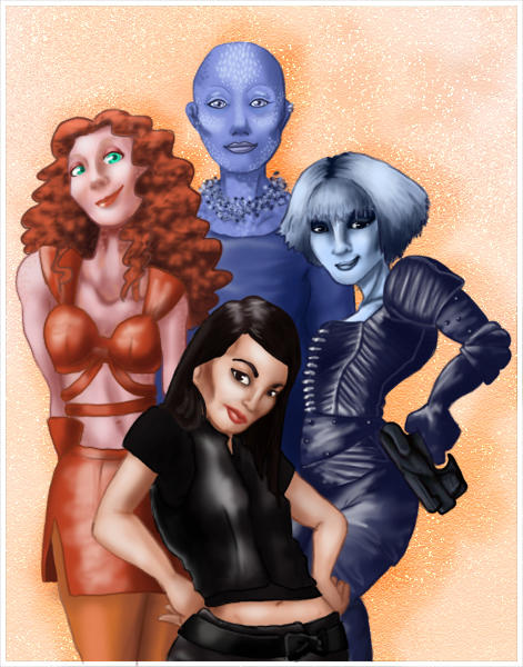 Women of Farscape by Horuni