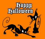 Halloween Kitties by Horuni