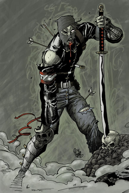Zombie Ninja by Horuni