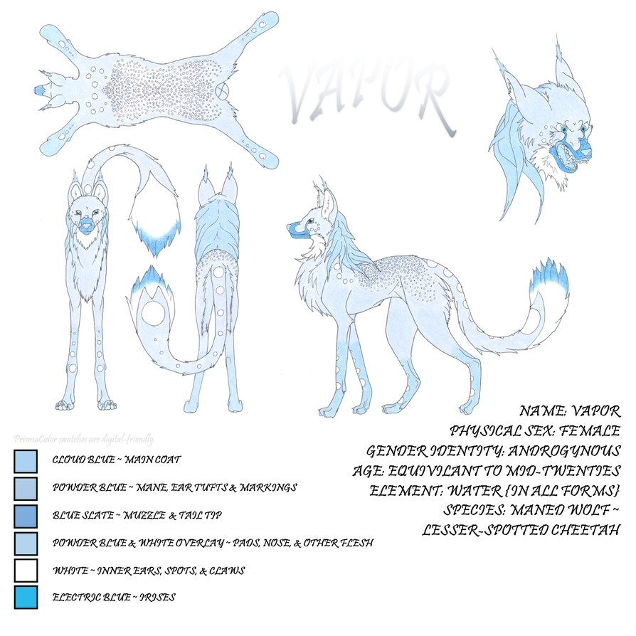 Vapor Official Reference Sheet by MistingWolf