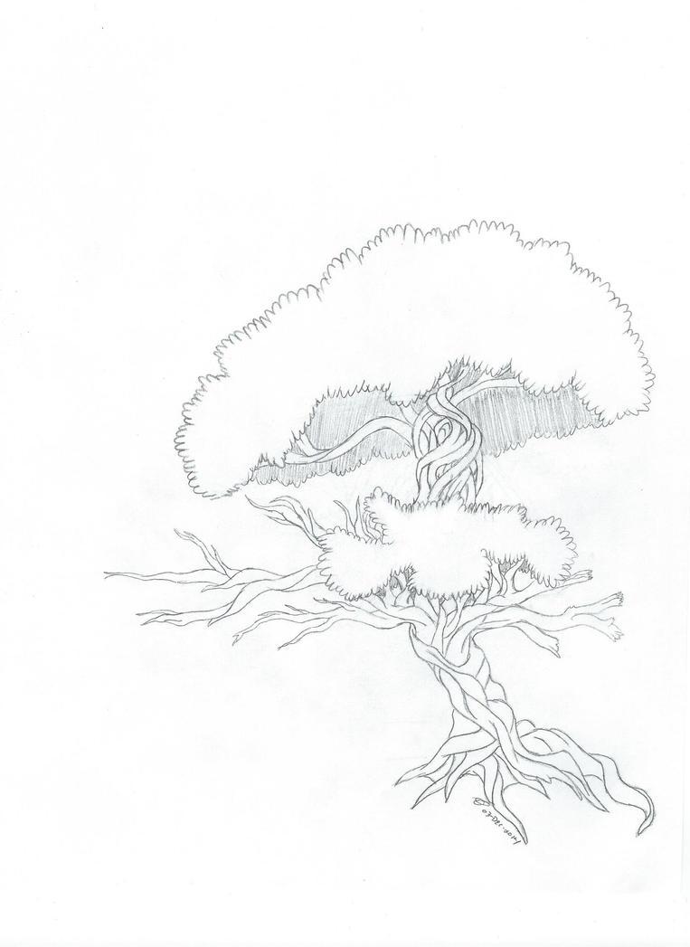 Twisted Tree by MistingWolf