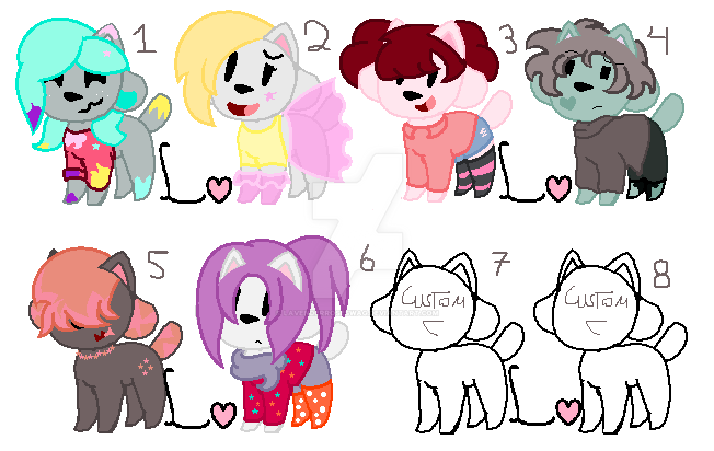 Temmies adoptables- OPEN! by LavenderRoseSwag
