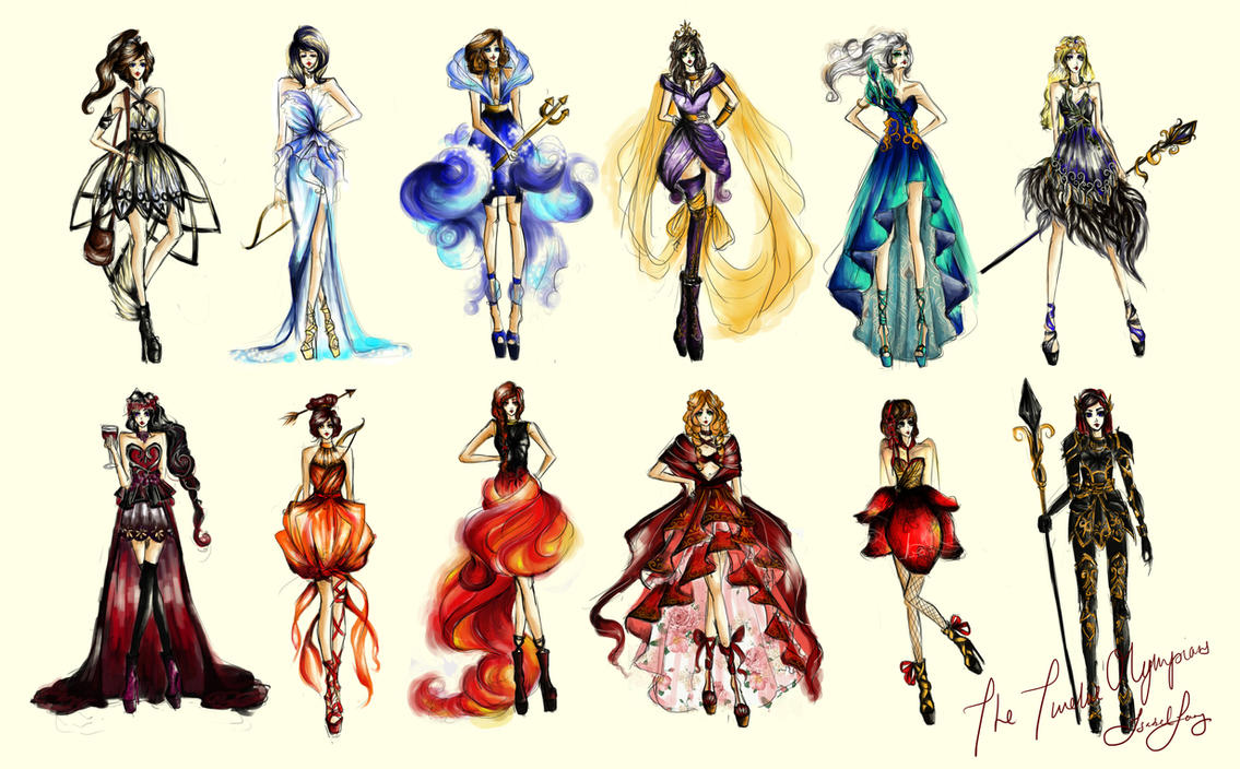 The twelve olympians by chiaroscuro8 on deviantart the twelve olympians by chiaroscuro8 biocorpaavc Choice Image