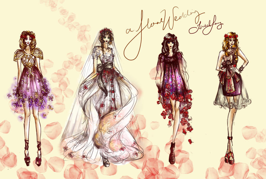A Floral Wedding by chiaroscuro8