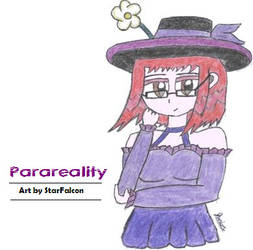 Avatar Art for Parareality by UltraFalcon