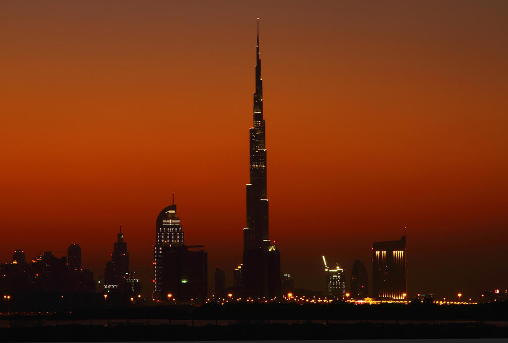 Dubai Burj Khalifa sunset by Grosvenor-Photos on DeviantArt