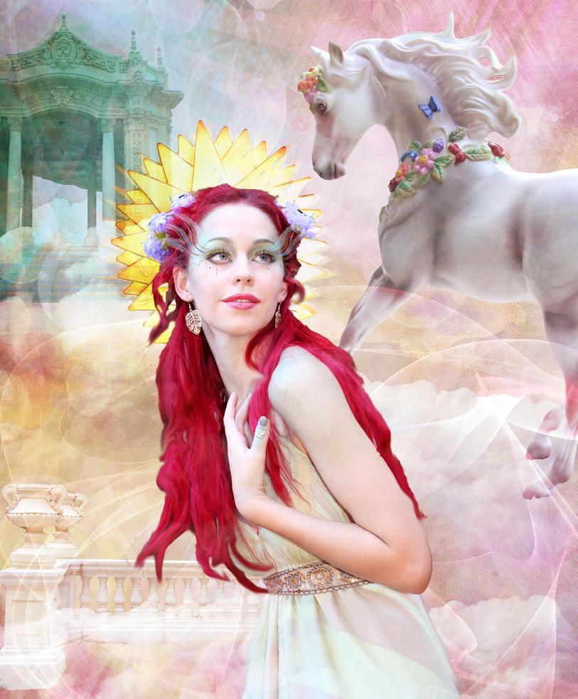 Sun Goddess Aine by pixiebutt14