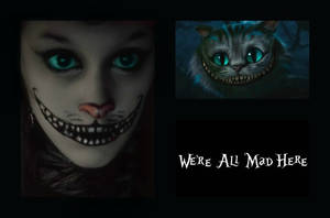 Cheshire Cat makeup by silvertail28