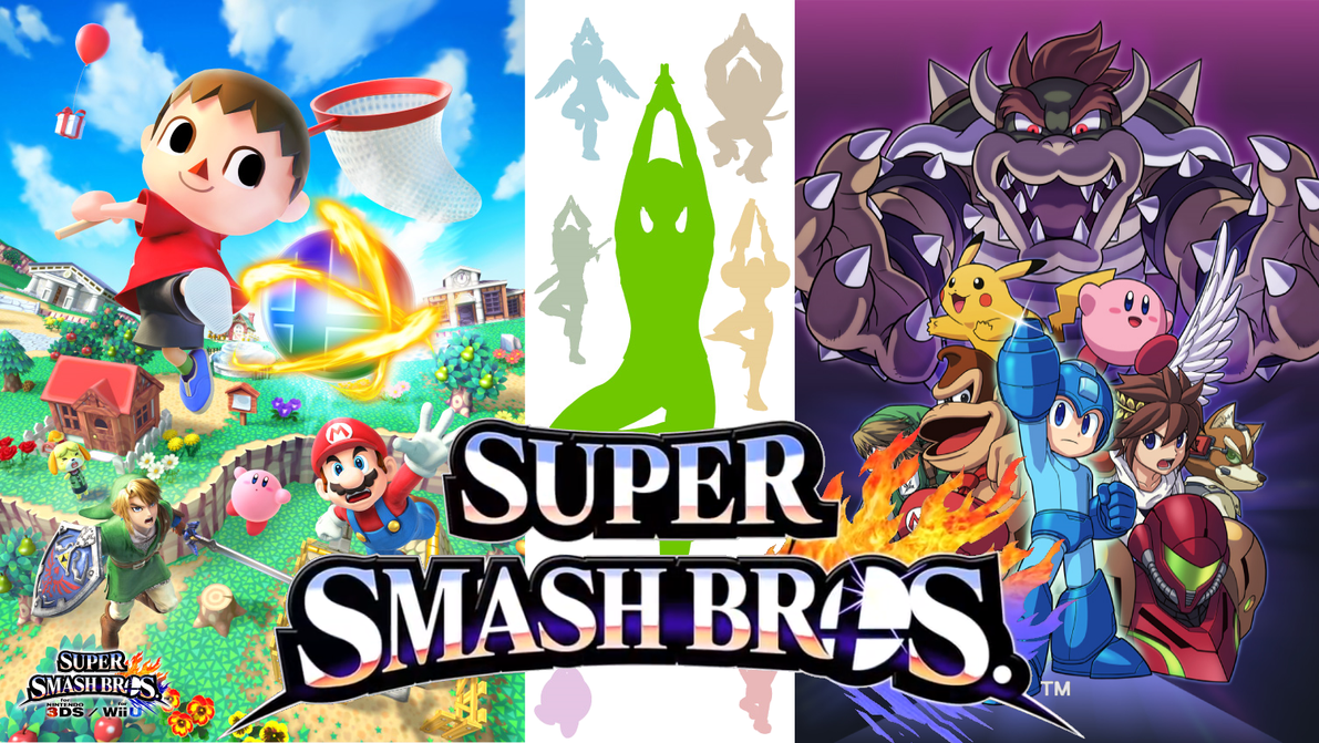 Top Wallpaper Logo Super Smash Bro - super_smash_bros__4_wallpaper_by_skullaz-d6ijvsj  HD_98288.png